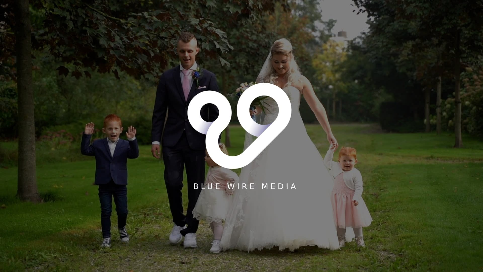 Trouw videograaf Blue Wire Media