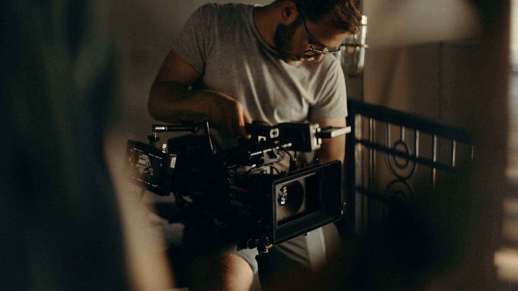 herken een professionele videograaf